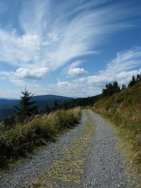 Cestou na Kamzík - Hrubý Jeseník