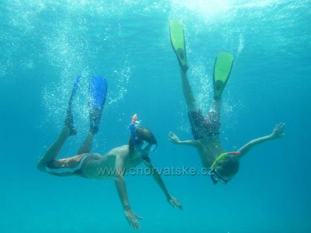 pod vodou, zátoka Levrnaka - Kornati