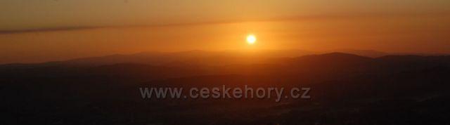 svítání nad Libercem