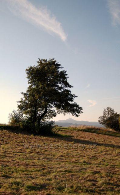 výhled od kapličky u Javorníku