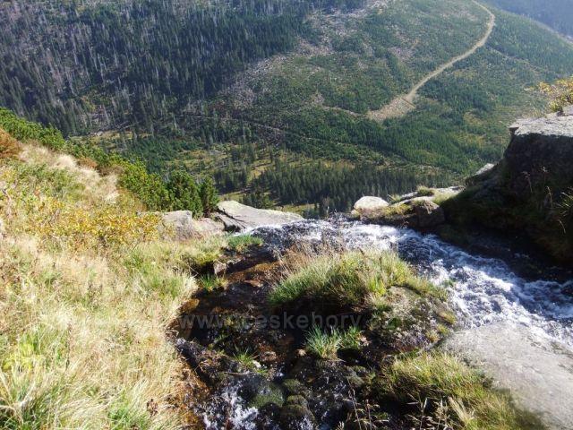 Pančavský vodopád do Labského dolu