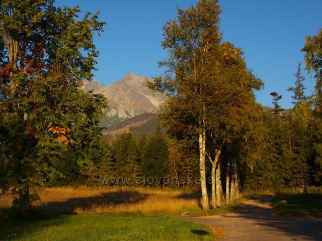 Vysoké Tatry z Kežmarských Žlabů