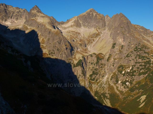 Vysoké Tatry - Čierný štíta a Kolový štít