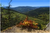 Jeseníky-vyhlídka nad Bílým potokom