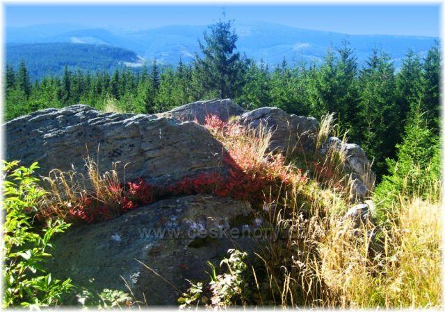 Jeseníky vyhlídka nad Bílým potokem