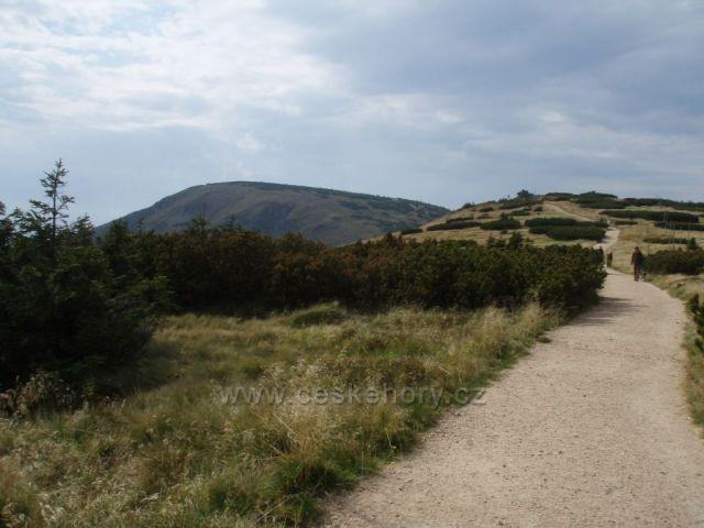 Západní Krkonošeúk Harrachovým kamenů,ke Kotli