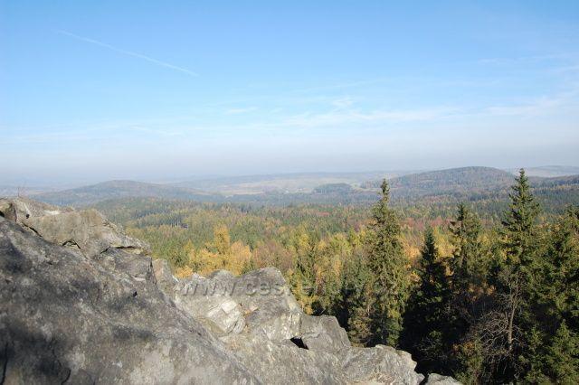M.Stožec-pohled z vrcholu