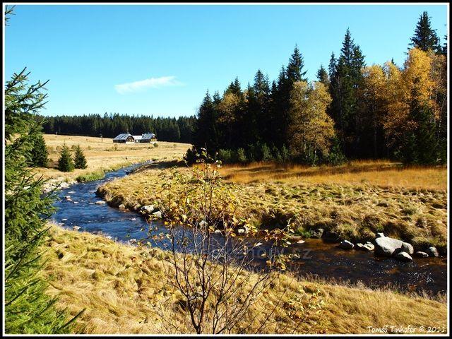 Šumava - Roklanský potok u bývalé Rybárny