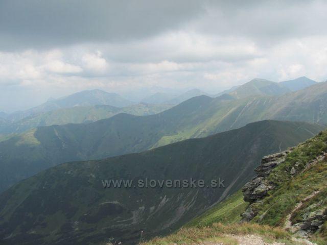 Vysoké Tatry z Volovce