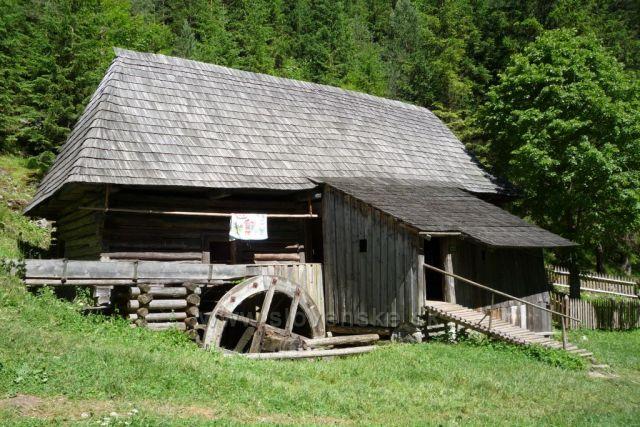 Kvačanská dolina - Oblazy