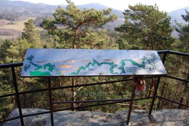 Zelený vrch-Schillerova vyhlídka