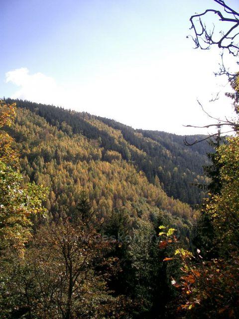 pohled do Prunéřovského údolí