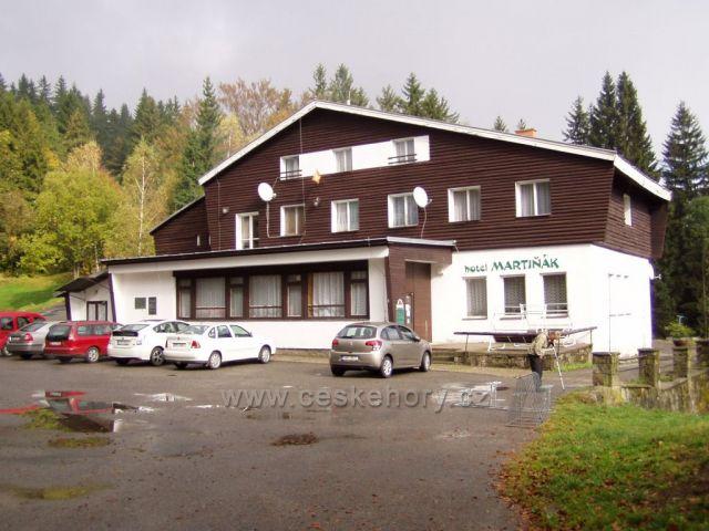 Hotel Martiňák-oblíbené turist.místo