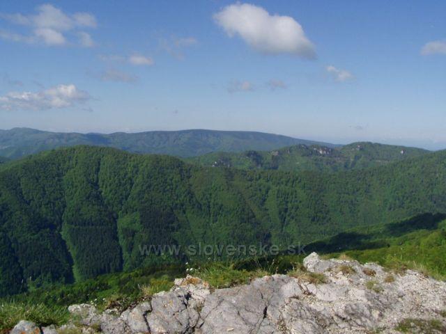 pohled z Majerovy skály