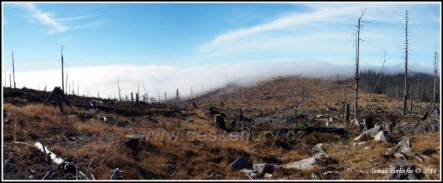 Šumava - vrchol Plechý (1378 m.n.m), 28.říjen 2011