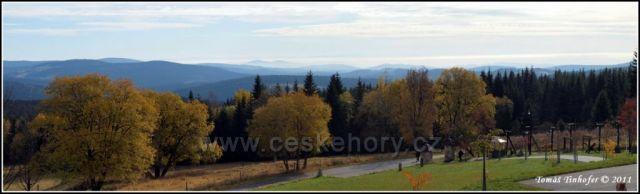 Šumava - panorama z Bučiny