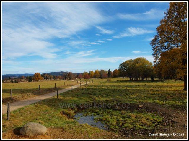 Šumava - Knížecí Pláně na podzim