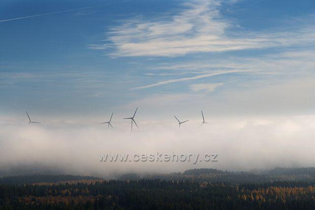 Větrníky v inverzi