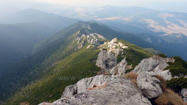 hřeben Sivého vrchu