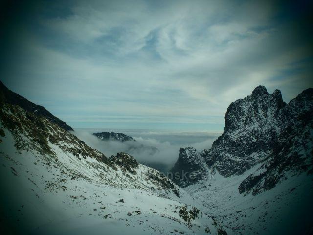 Vysoké Tatry - cesta na Sedielko