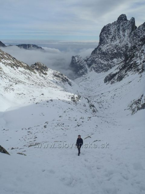Cesta na Sedielko pod Malým ľadovým - Vysoké Tatry