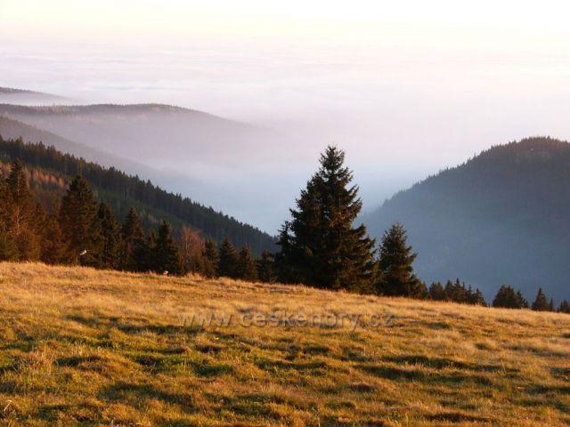 Inverze nad Krušnými horami