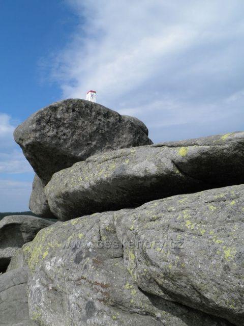 Hraniční kámen na Tvarožníku