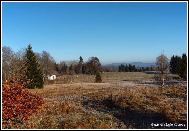 Šumava - okolí Nového Údolí nedaleko Stožce