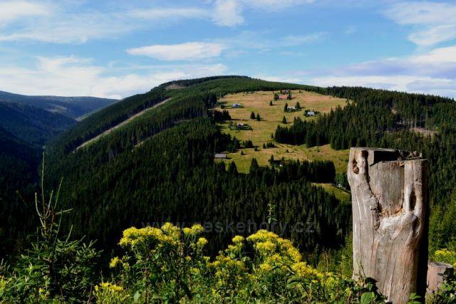 Krkonše - foceno cestou do Dolní Úpy