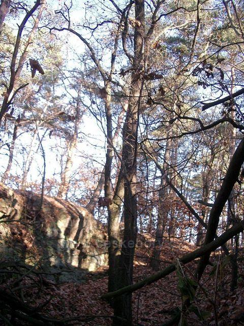 přírodní útvar Skalka
