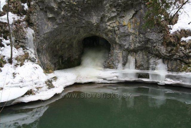 Slovensky raj prielom Hornadu