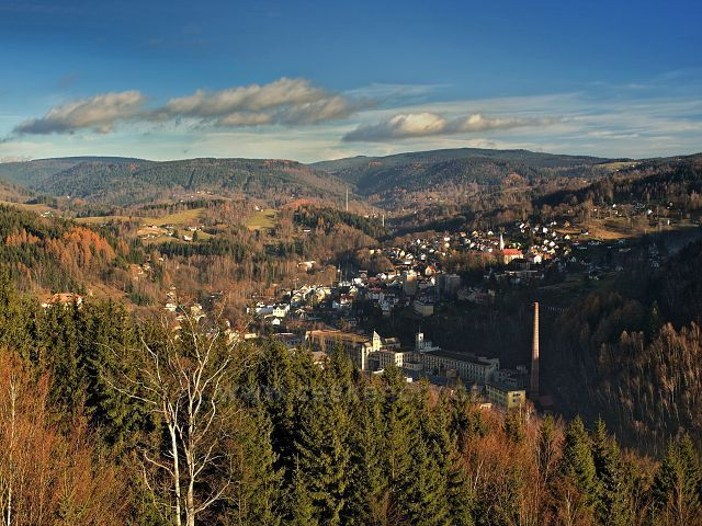 Pohled z Terezínky na Tanvald