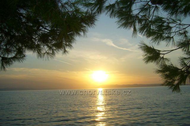 Západ slunce v Podgoře,září 2011