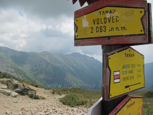pohled z Volovce