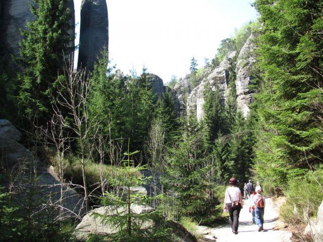 Adršpach,skalní město