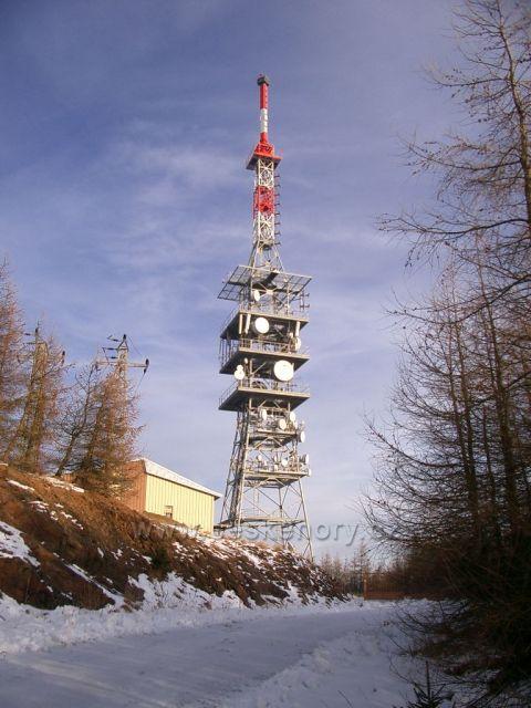 vysílač Jedlák na Jedlové hoře