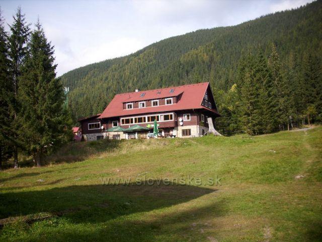 Chata Zverovka.