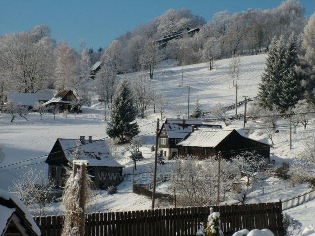 Pohled od chaty Soláň