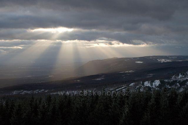 Výhled z Vlčí hory