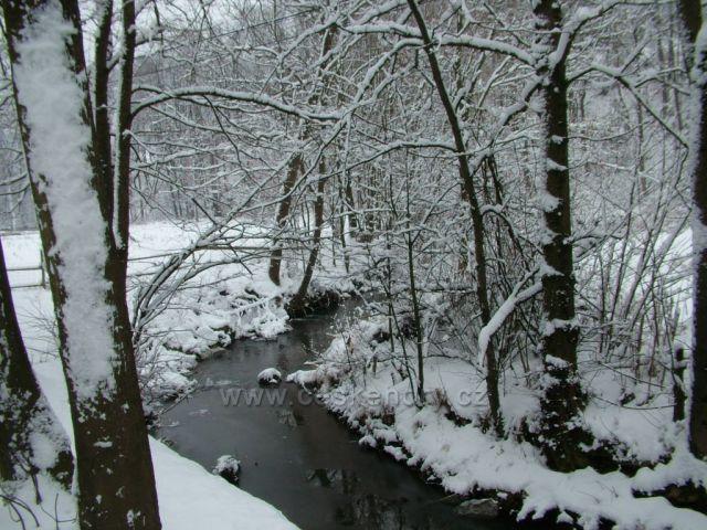 Jezerní potok ve Velkých Karlovicích I