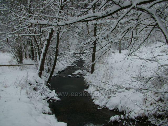 Jezerní potok ve Velkých Karlovicích III