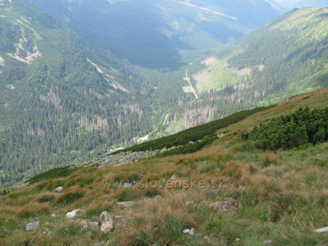 Roháčská dolina z Volovce
