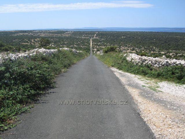 ostrov PAG - cestování na kole