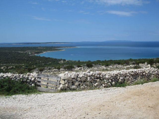 ostrov PAG - na kole