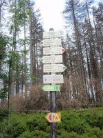 Předěl 1234m - sedlo mezi Poledníkem a Jezerním hřbetem