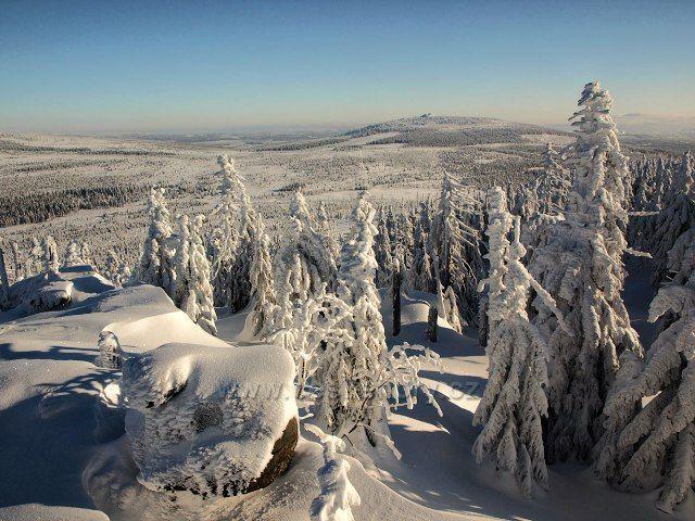 Pohled na Jizeru ze Sněžných věžiček