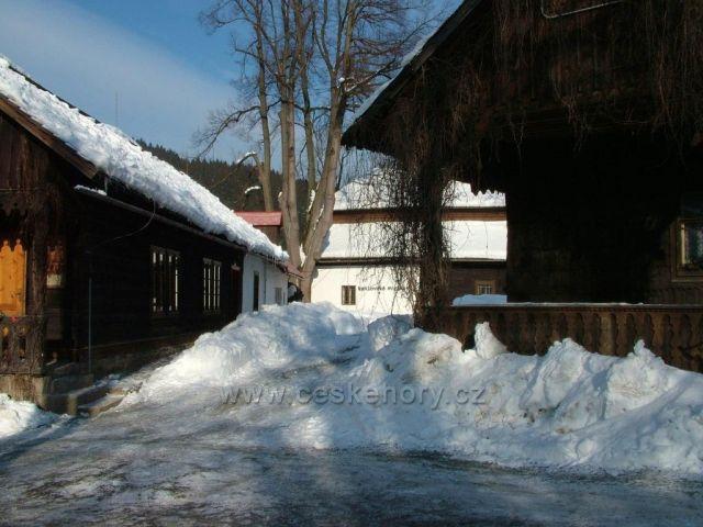 Muzeum pod sněhem