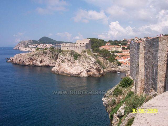 Dubrovnik-hradby starého města