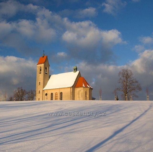 Kostel Nová Ves u Jablonce nad Nisou.