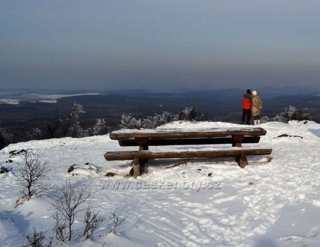 Drážďanská vyhlídka u Děčínského Sněžníku